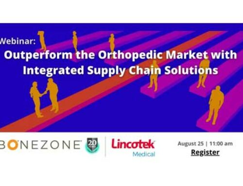 Outperform the Orthopedic Market with Integrated Supply Chain Solutions